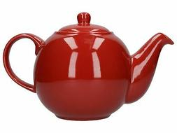 London Pottery Globe 6 Cup Teapot Red